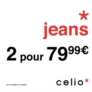 CELIO // OFFRE JEANS