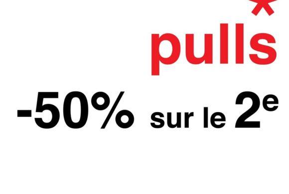 celio // -50% sur le 2eme pull